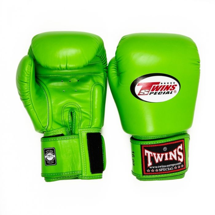 Twins BGVL-3 Boxing Gloves Lime Green